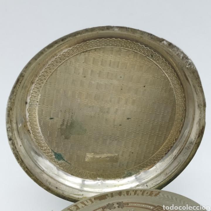 Relojes de bolsillo: PAUL JEANNOT - Reloj de 4 tapas - 1894. 15 rubíes. Ginebra Suiza - Para reparar - Foto 27 - 199037875