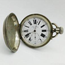 Relojes de bolsillo: PAUL JEANNOT - RELOJ DE 4 TAPAS - 1894. 15 RUBÍES. GINEBRA SUIZA - PARA REPARAR. Lote 199037875