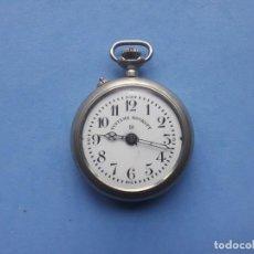 Relojes de bolsillo: RELOJ DE BOLSILLO MARCA ROSKOPF. FUNCIONANDO. Lote 199229246