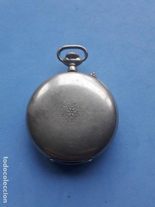 Relojes de bolsillo: Reloj de bolsillo Marca Roskopf. Funcionando - Foto 3 - 199229246