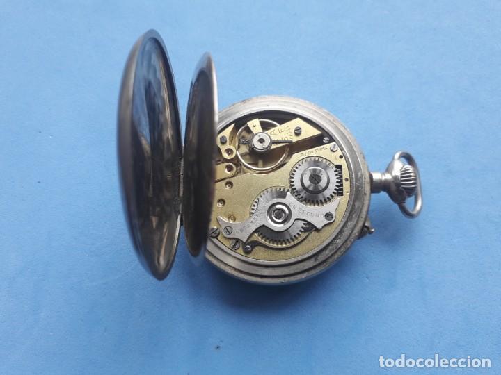 Relojes de bolsillo: Reloj de bolsillo Marca Roskopf. Funcionando - Foto 6 - 199229246