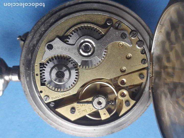 Relojes de bolsillo: Reloj de bolsillo Marca Roskopf. Funcionando - Foto 7 - 199229246