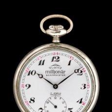 Relojes de bolsillo: ANTIGUO RELOJ DE BOLSILLO DE ORIGEN SUIZO Y FUNCIONANDO. Lote 199349148