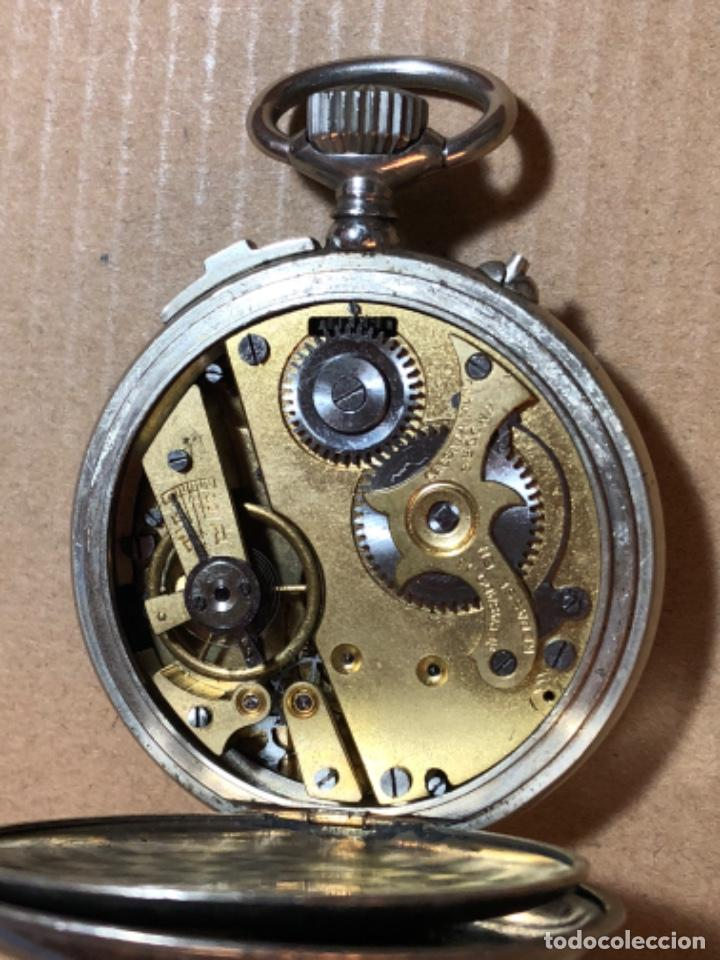 Relojes de bolsillo: Rosskopf Fils Cronógrafo. Roskopf Segundero central. Funciona. - Foto 7 - 197521553