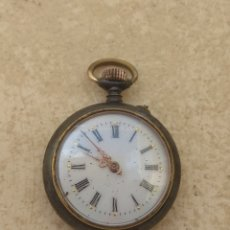 Relojes de bolsillo: RELOJ DE BOLSILLO MUJER - ACIER -. Lote 199989268