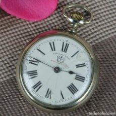 Relojes de bolsillo: ANTIGUO RELOJ DE BOLSILLO F. BACHSCHMID. Lote 107191767