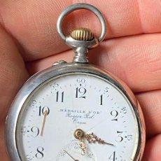 Relojes de bolsillo: ANTIGUO RELOJ DE BOLSILLO MOERIS - ROGIER ROL ORAN . Lote 201268225