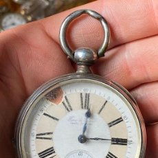 Relojes de bolsillo: ANTIGUO RELOJ DE BOLSILLO HAAS & PRIVAT CHAUX DE FONDS - LIGNE DROITE. Lote 201268357