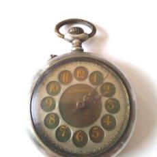 Relojes de bolsillo: ROTSCHILD RELOJ BOLSILLO FUNCIONA, MAQUINARIA CINZELADA LENTE PROTECTORA CRISTAL. Lote 201292200