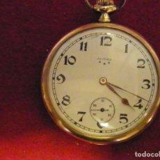 Relojes de bolsillo: RELOJ JUVENIA ORO 18 KILATES. Lote 201358441