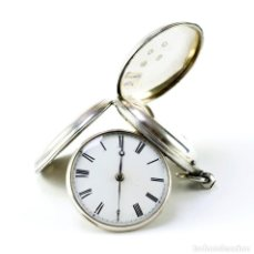 Relojes de bolsillo: RELOJ INGLÉS DE BOLSILLO, SABONETA, VERGE FUSEE (CATALINO), LONDRES, 1854.. Lote 202697550