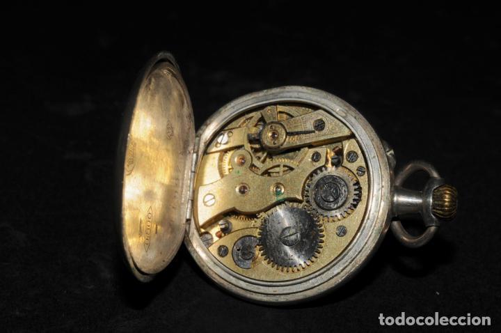 Relojes de bolsillo: RELOJ DE BOLSILLO EN PLATA DE SEÑORA - MARCA PERY WATCH - Foto 3 - 202708192