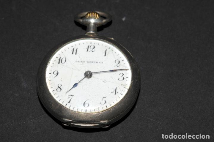 RELOJ DE BOLSILLO EN PLATA DE SEÑORA - MARCA PERY WATCH (Relojes - Bolsillo Carga Manual)