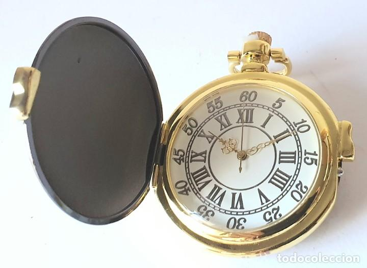 Relojes de bolsillo: RELOJ DE BOLSILLO GENTLEMAN COLLECTION *** RELOJ A CUERDA **** NUEVO - Foto 3 - 202736790