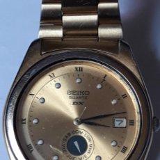 Relojes de bolsillo: RELOJ DE PULSERA CABALLERO QUARTZ SEIKO DX. Lote 213998111