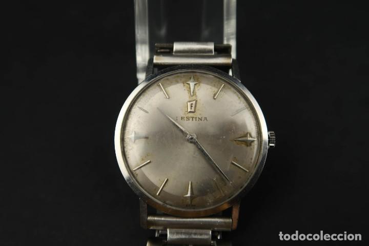 Relojes de bolsillo: Antiguo Reloj de Cuerda de la Marca Festina - Foto 3 - 203052697