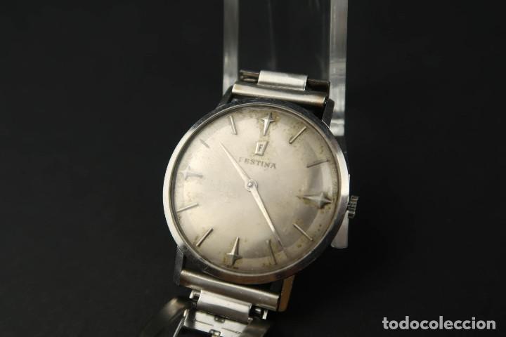 Relojes de bolsillo: Antiguo Reloj de Cuerda de la Marca Festina - Foto 5 - 203052697