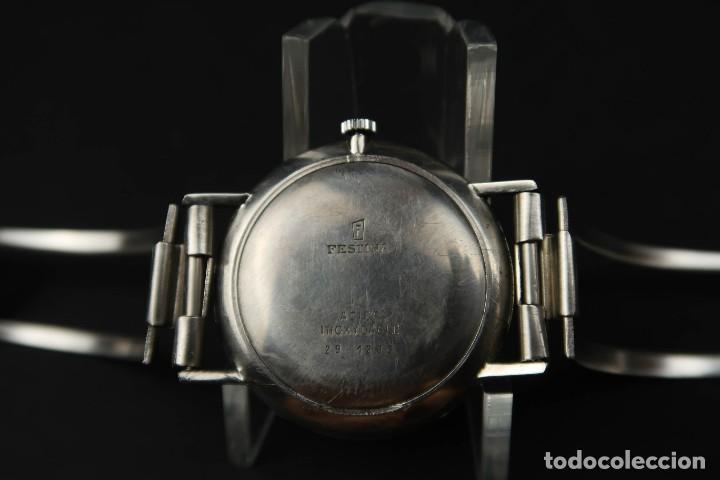 Relojes de bolsillo: Antiguo Reloj de Cuerda de la Marca Festina - Foto 6 - 203052697