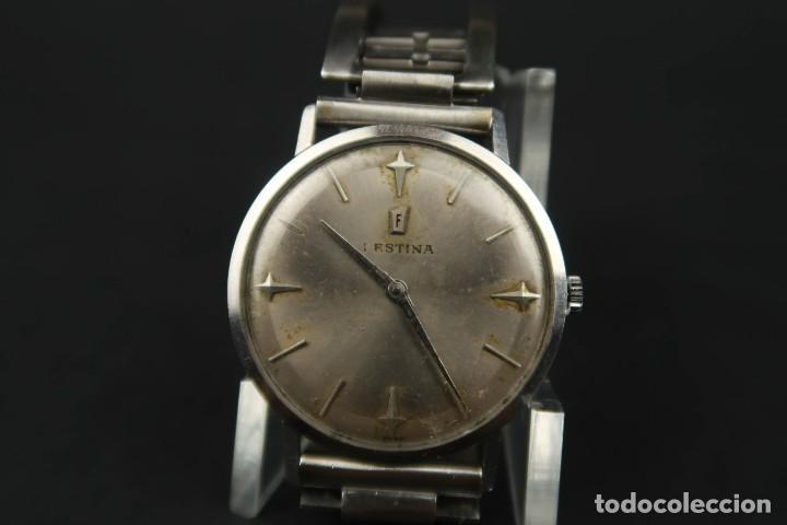 Relojes de bolsillo: Antiguo Reloj de Cuerda de la Marca Festina - Foto 9 - 203052697