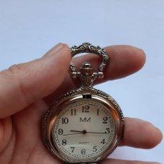 Relojes de bolsillo: RELOJ DE BOLSILLO QUARTZ MM WORLD S BEST DAD . DIÁMETRO DEL RELOJ 44.3 MILÍMETROS. 48.12 GRAMOS. Lote 203147346