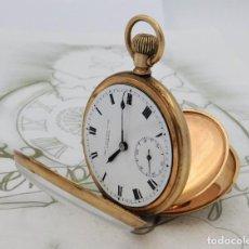 Relojes de bolsillo: THOMAS RUSSELL & SON-PRECIOSO RELOJ DE BOLSILLO-3 TAPAS-CIRCA 1870-1890-FUNCIONANDO. Lote 203167640