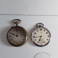 Relojes de bolsillo: 2 RELOJES DE BOLSILLO. Lote 203911062