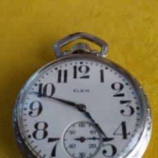 Relojes de bolsillo: RELOJ DE BOLSILLO ELGIN USA DE 1926. Lote 204173388