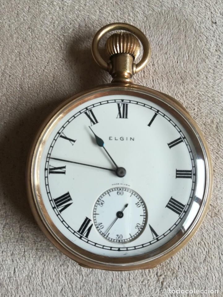 ELGIN 16S (Relojes - Bolsillo Carga Manual)