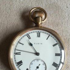 Relojes de bolsillo: ELGIN 16S. Lote 204255491