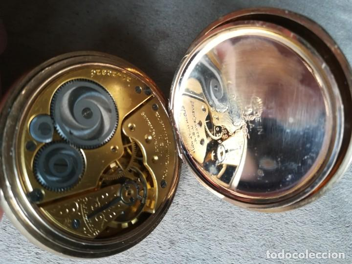 Relojes de bolsillo: Elgin 16s - Foto 5 - 204255491