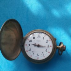 Relojes de bolsillo: RELOJ BOLSILLO FIXOR REMONTOIR ANCRE PRECISION 3 TAPAS.. Lote 205029927