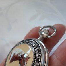 Relojes de bolsillo: RELOJ HOMBRE DE BOLSILLO DE QUARTZ . 55.06 GRAMOS PESÓ. DIÁMETRO 55.5MM . GROSOR 21.5 MM.. Lote 205357190