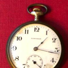 Relojes de bolsillo: ANTIGUO RELOJ DE BOLSILLO, LONVILLE.. Lote 205733660