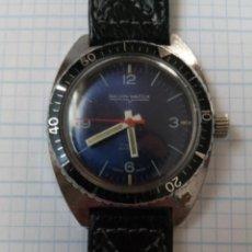 Relojes de bolsillo: RELOJ GALVIN DIVER 5ATM ST 96 FUNCIONA PERO NECESITA LIMPIEZA Y ACEITE. Lote 206128603