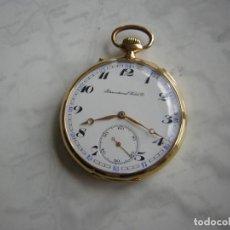 Relojes de bolsillo: RELOJ DE BOLSILLO IWC INTERNATIONAL WATCH Cº DE ORO 18KT AÑO 1906. Lote 206248697