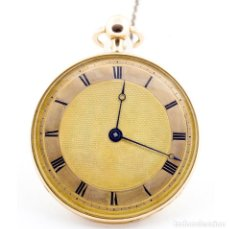 Relojes de bolsillo: GILLET L'AINÉ (CLERMONT, FRANCIA).RELOJ DE REPETICIÓN PARA HOMBRE. AÑO 1820. ORO 18K.. Lote 206253093