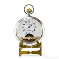 Relojes de bolsillo: PRESTO. RELOJ DE BOLSILLO, LEPINE, REMONTOIR, OCHO DÍAS CUERDA. SUIZA, CA. 1920. Lote 206254498
