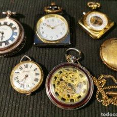 Relojes de bolsillo: LOTE DE RELOJES DE BOLSILLO PARA ARREGLAR O DECORACIO. Lote 206272991