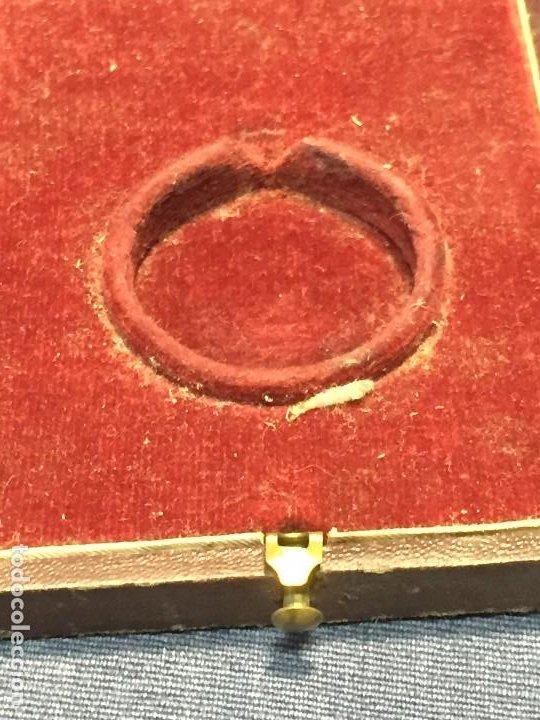 Relojes de bolsillo: CAJA RELOJ BOLSILLO FABRICA GELASIO OÑA MADRID CASA FUNDADA EN 1880 2,5X9X7CMS - Foto 6 - 206937427