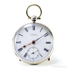 Relojes de bolsillo: J.W. BENSON (LUDGATE HILL). RELOJ INGLÉS DE BOLSILLO, LEPINE, HALF FUSEE (SEMICATALINO). LONDRES.. Lote 207005512