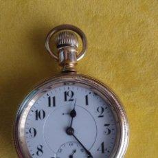 Relojes de bolsillo: RELOJ DE BOLSILLO HOWARD USA DE 1911 RAILROAD SERIES 5. Lote 207085265