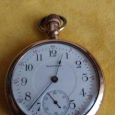 Relojes de bolsillo: RELOJ DE BOLSILLO WALTHAM USA DE 1908. Lote 207094895