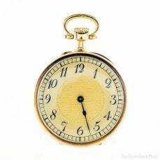 Relojes de bolsillo: SAVOYE FRERES & CO. RELOJ DE BOLSILLO-COLGAR, LEPINE Y REMONTOIR. FRANCIA. ORO 18K.. Lote 207105551