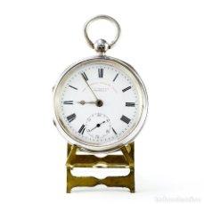 Relojes de bolsillo: J.G. GRAVES. RELOJ DE BOLSILLO, LEPINE, HALF FUSEE (SEMICATALINO). SHEFFIELD, AÑO 1900. Lote 207108082
