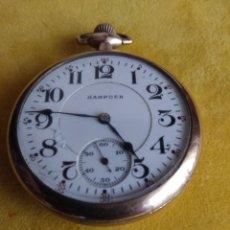 Relojes de bolsillo: RELOJ DE BOLSILLO HAMPDEN USA DE 1917. Lote 207283986