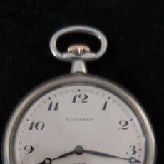 Relojes de bolsillo: RELOJ BOLSILLO LONGINES CORONA EN ORO. Lote 207327893
