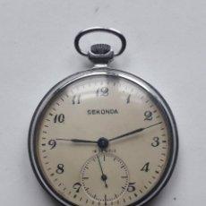 Relojes de bolsillo: RELOJ DE BOLSILLO MARCA SEKONDA.. Lote 208046808