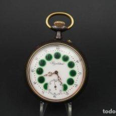 Relojes de bolsillo: ANTIGUO RELOJ DE BOLSILLO DE FERROVIARIO REGULATEUR. Lote 208080145