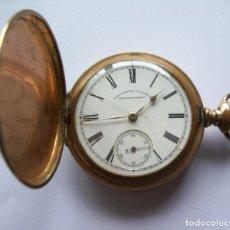 Relojes de bolsillo: ANTIGUO RELOJ DE BOLSILLO CRONÓMETRO WALTHAM MASS - ENVÍO GRATIS. Lote 208695011