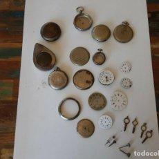 Relojes de bolsillo: GRAN LOTE DE 25 PIEZAS DE RELOJES BOLSILLO- LOTE 276. Lote 208719545